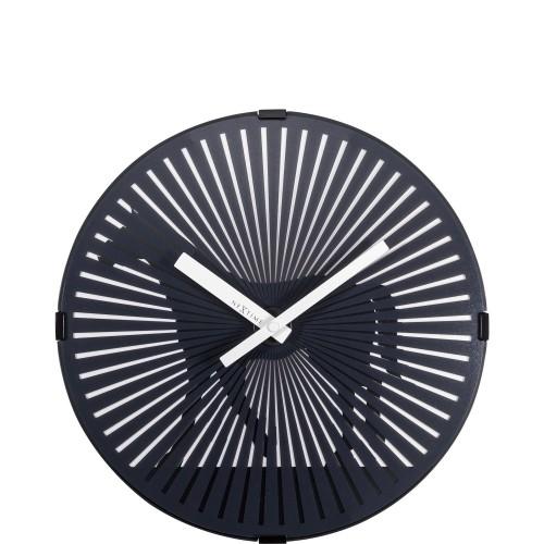 NeXtime Walking Horse zegar ścienny z efektem ruchu