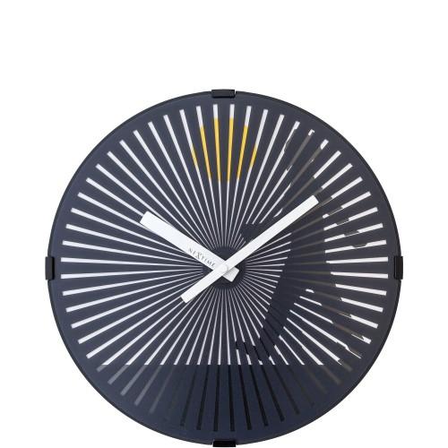 NeXtime Walking Man zegar ścienny z efektem ruchu