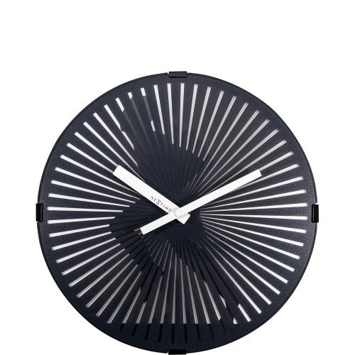 NeXtime Running Man zegar ścienny z efektem ruchu