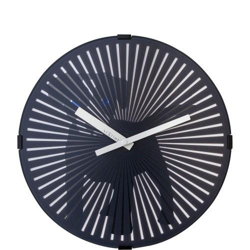 NeXtime Dog zegar ścienny z efektem ruchu