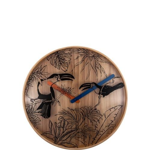 NeXtime Tropical Birds zegar ścienny