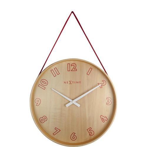 NeXtime Loop Small zegar ścienny