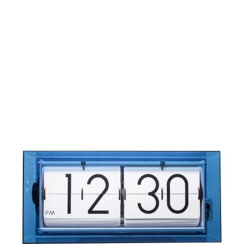 NeXtime Big Flip Clear zegar stojący