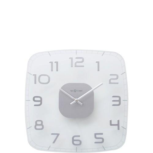 NeXtime Classy Square zegar ścienny