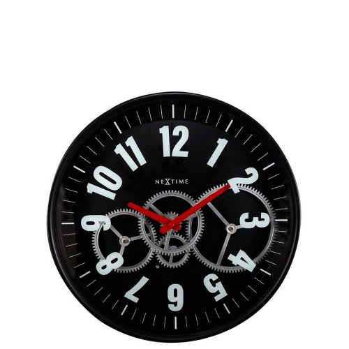 NeXtime Modern Gear Clock Zegar ścienny
