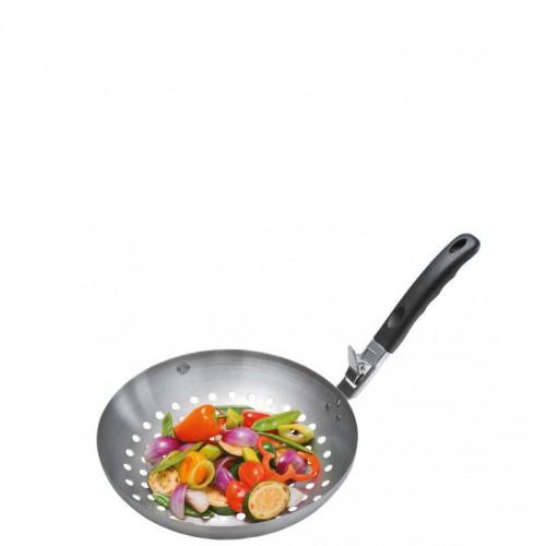GEFU BBQ Wok do grillowania warzyw z odpinanym uchwytem