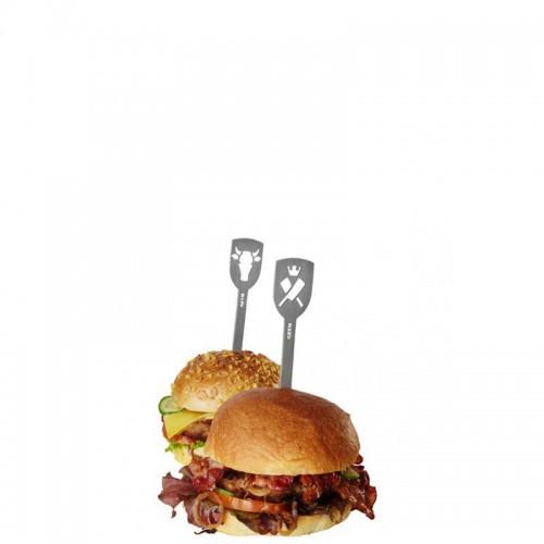 GEFU Torro Szpikulce do hamburgerów, 2 szt