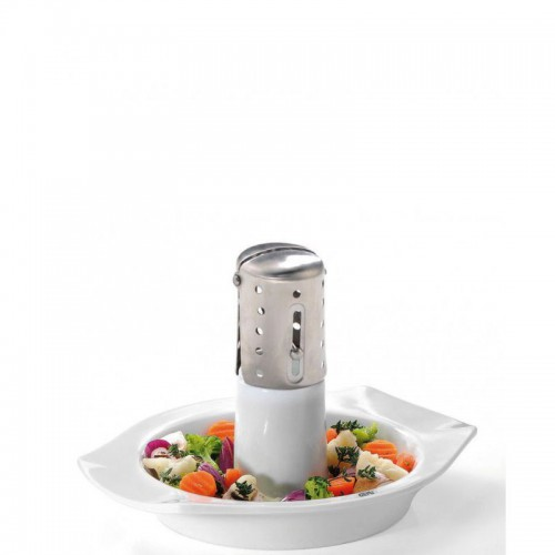 GEFU Superb Grill porcelanowy do kurczaka i warzyw