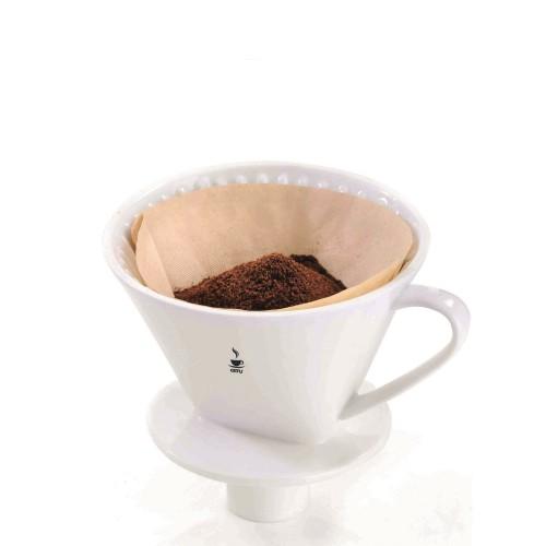 GEFU Sandro Zaparzacz do kawy porcelanowy, rozmiar 4