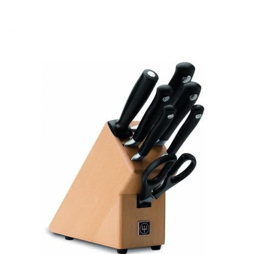 Wusthof Grand Prix II Blok z nożami, 7 elementów