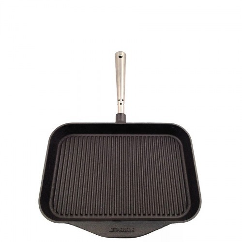 Skeppshult Chefs Selection prostokątna patelnia żeliwna grillowa