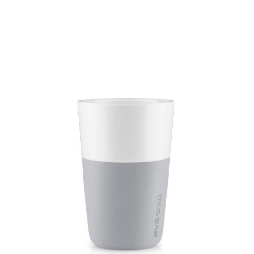Eva Solo Eva Solo filiżanka do cafe latte Marble grey, 2 szt.