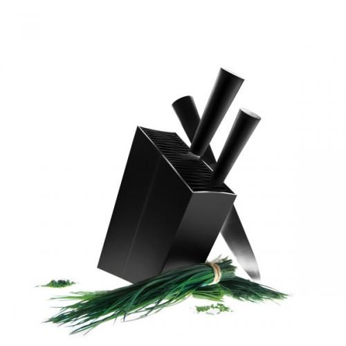 Eva Solo Knife Stand blok na noże ukośny, kolor czarny