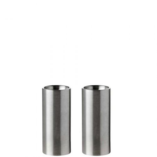 Stelton Cylinda Line solniczka i pieprzniczka