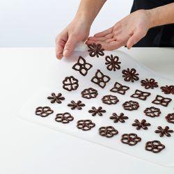 Lekue Decomat zestaw do dekoracji z czekolady zdjęcie dodatkowe 8