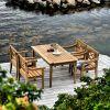 Skagerak Drachmann krzesło ogrodowe, kolor beżowy zdjęcie dodatkowe 3