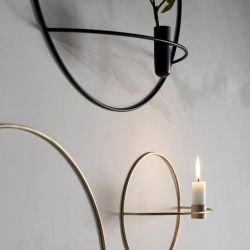 Menu POV Circle świecznik naścienny na świeczkę zdjęcie dodatkowe 2